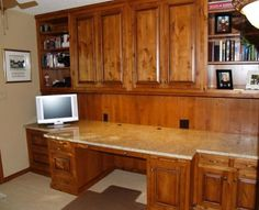 granite top desk Home Office with