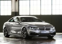 2013 BMW 4-Series Coupe Concept Front Side View