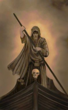 Charon the ferryman of the River Styx in the Greek Underworld