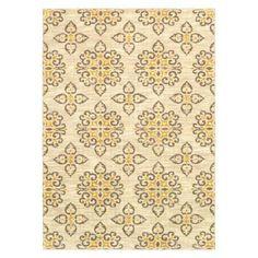 Shaw Living® Global Tiles Area Rug - Gray/Yellow