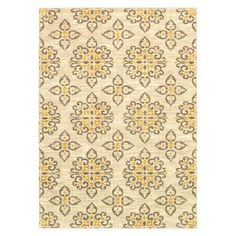 Shaw Living® Global Tiles Area Rug - Gray/Yellow