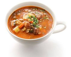 Minestrone s parmezánom Maila, Slimming World, Thai Red Curry, Keto, Health Fitness, Food And Drink, Healthy Eating, Low Carb, Soup