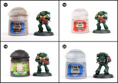 Tutorial: How to Paint Dark Angels Tactical Marines from Dark Vengeance