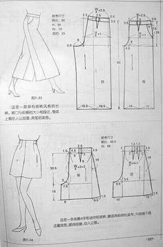 New Ideas Sewing Pants Trousers Sewing Pants, Sewing Clothes, Barbie Clothes, Pattern Cutting, Pattern Making, Dress Sewing Patterns, Clothing Patterns, Skirt Patterns, Modelista