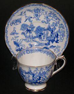 Royal Albert Willow Mikado Teacup and Saucer