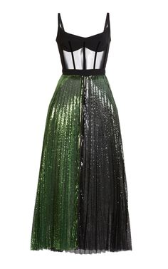 David Koma Corset Detail Sequin Dress - David Koma Corset Detail Sequin Dress Best Picture For spring outfits For Your Taste You are look - Kpop Fashion Outfits, Stage Outfits, Mode Outfits, Dress Outfits, Fashion Dresses, Dress Up, Party Fashion, Fashion Week, Look Fashion