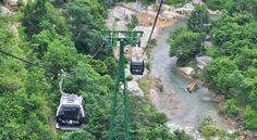 Ba Na Hill, Danang - travel via cablecar