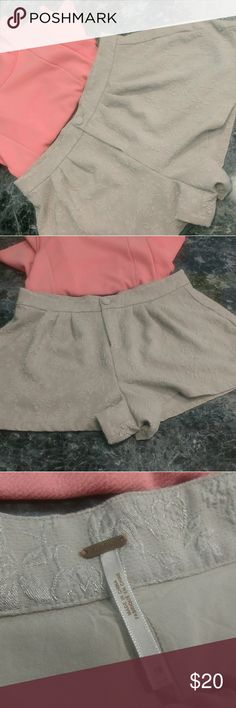 FREE PEOPLE SHORTS Great used condition. Elevated pattern. See last photo. Flowy and comfy. Shorts