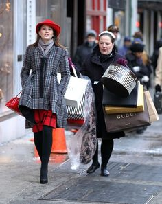 17. Spend it on shopping at her favourite shops, as she loves fashion