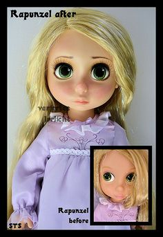 ooak animators rapunzel doll from tangled. | Flickr - Photo Sharing!