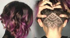 Tendencia en peinados, el undercut # Después de lo de las uñas peludas, que me parece una tendencia de lo más extraña, me sorprendo viendo nuevas tendencias que solo son para las más atrevidas, esas mujeres que viven en constante cambio …