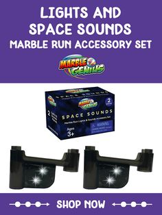 Lights & Space Sounds Marble Run Accessory Set Steam Learning, Hands On Learning, Learning Through Play, Steam Toys, Steam Education, Math Stem, Space Sounds, Inspired Learning, Child Smile