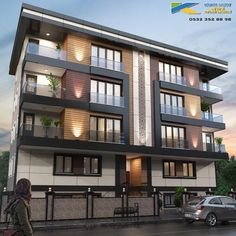 Modern Buildings Residential Great Buildings And Structures Residential Building Design, Home Building Design, Building Exterior, Architecture Résidentielle, Commercial Architecture, Japanese Architecture, Sustainable Architecture, Contemporary Architecture, Plafond Design