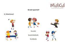 Ki mit sportol? – MidKid Sport, Comics, Deporte, Sports, Comic Book, Comic Books, Comic, Comic Strips, Comics And Cartoons