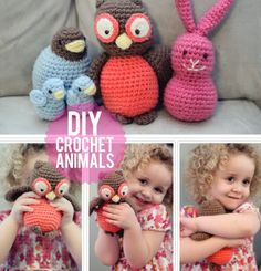 DIY | DIY Crochet Toys For Small Kids | Kidsomania saving cause some of these could translate into knitting or sewing