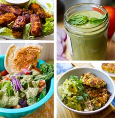 Round-up of Meatless Monday #vegan recipes
