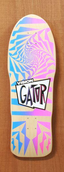 """Vision 30"""" Gator Natural Skateboard Deck"""