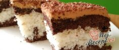Kokosové řezy s karamelovou polevou Crinkles, Tiramisu, Ethnic Recipes, Food, Tiramisu Cake, Meals