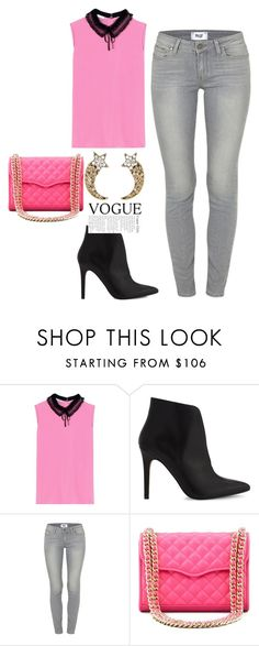 """""""Untitled #125"""" by elma-vehabovic ❤ liked on Polyvore featuring Miu Miu, ALDO, Paige Denim, Rebecca Minkoff and Marc Jacobs"""