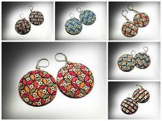 pattern 1 earrings