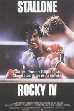 """""""Io ti spiezzo in due"""" disse Ivan Drago- #DolphLundgren) a #RockyBalboa- #SylvesterStallone... USA contro URSS? Si, ma #RockyIV è molto di più!"""