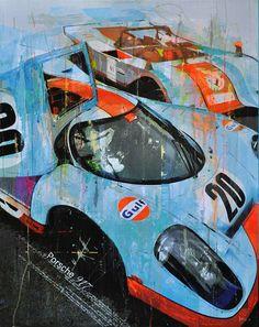 Porsche 917 :: Racing Legends :: Markus Haub | Megadeluxe