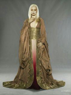 Princess golden dress