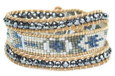 "NEW! Boho Betty ""Anita Day"" Beaded Triple Wrap Bracelet #BOHOBETTY #Beaded"