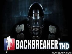 Backbreaker 3D  Android Game - playslack.com , Backbreaker 3D - sports imitator of American soccer. concepts of the game with high exactness are came  to the actual. The content of the game consists in running through all 120 yards of a tract and to transport a ball in a zone of the competitor. soccer players of other team will attempt to stop you, and in rather loyal style. Control in the game is use by means of G-sensor. In an armament of your soccer player there is a set of ruses which…