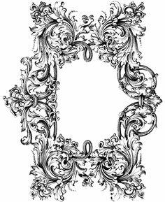#baroque #frame