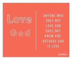 Love God....