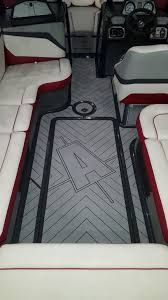 SeaDek Boat Flooring kits are available for cut and ship for DIY projects. SC Wake SeaDek Axis Platform kit for most years are in our library. Front Deck, Boat Stuff, Boats, Diy Projects, Platform, Ship, Flooring, Ships, Hardwood Floor