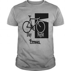 night day no excuses grey LIMITED TIME ONLY. ORDER NOW if you like, Item Not Sold Anywhere Else. Amazing for you or gift for your family members and your friends. Thank you! #excuses #shirts
