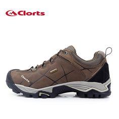 2016 clorts uomini autunno inverno scarpe da trekking impermeabili di cuoio reale taglio basso antiscivolo all'aperto scarpe hkl-805a