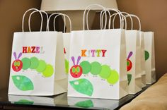 Handicraftiness: A Very Hungry Caterpillar Birthday Party: Final Post!