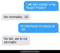 Kiedy kumpel jest w Rosji, więc pytasz jak tam u niego Funny Friday Memes, Very Funny Memes, 9gag Funny, Friday Humor, Monday Memes, Funny Sms, Funny Text Messages, Funny Texts, Funny Animal Quotes