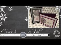 """Coul'Heure Papier: [Calendrier de l'Avent - Jour 7] """"Layers Card"""""""