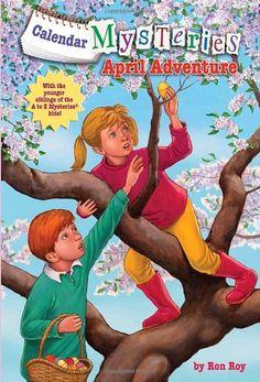 Calendar Mysteries #4: April Adventure (A Stepping Stone Book(TM)) by Ron Roy http://smile.amazon.com/dp/0375861165/ref=cm_sw_r_pi_dp_7kFCvb1ZCWNE9