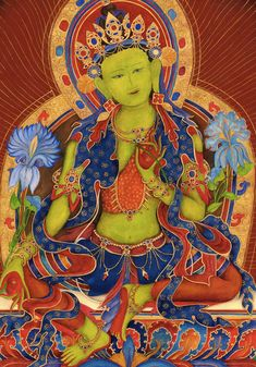 Green Tara, Goddess of Compassion, A , Avalokitesvara, Dharma, Meditation, Tara, Hindu Buddhist deit