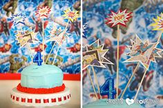 My oldest son wanted a superhero birthday party. This party was full of fun ideas. By the end, the kids were official superheroes! Craft Party, Diy Party, Party Ideas, Superhero Birthday Party, Birthday Parties, Hero Crafts, Birthday Cake Toppers, Creative Cakes, Holiday Parties