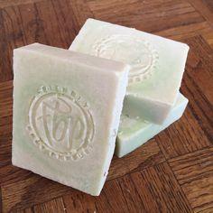 Coconut Lime Verbana Handmade Bar Soap by FriendlyBodyProduct