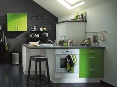 Petit espace fonctionnel avec une couleur dynamique
