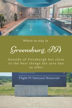 Planning a visit to Pittsburgh? Stay in Greensburg instead. Located outside of Pittsburgh but pack full of wonderful places to see, food to eat, and outdoors to explore. When visiting western PA don't skip a visit to Greensburg. #roadtrip #familyvacation #visitPA #hotelreview