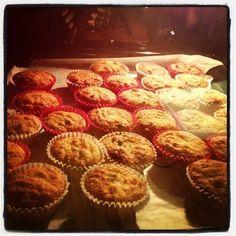 Piccoli muffin con farina di riso e cioccolato