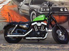 Forty-eight de 2013 de Bertrand Sportster #customculture #sportster #inspiration #harleydavidson #harley #custom #motocycles