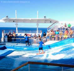 Surfing on a cruise ship  Website: http://patelcruises.com/  Email: patelcruises.com@gmail.com