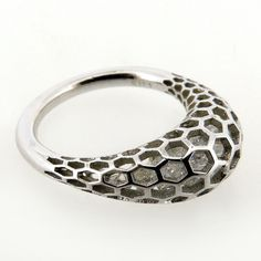 ISLET RING | ROUND | STERLING SILVER | CLEAR STONES dougbucci.bigcartel.com