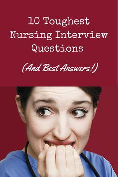 Nurses, getting ready for a nursing job interview? Check out these tips on how to answer the most common tough questions, via @nursecribed.