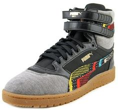 f910ad3a2a4d Puma Sky II Hi BHM Ram Men US 13 Multi Color Sneakers. Pumas ShoesShoes  SneakersCanvas ...
