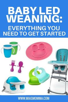 Baby Led Weaning: Everything You Need to Get Started Parenting Toddlers, Good Parenting, Parenting Ideas, Toddler Meals, Toddler Food, Colic Baby, Baby Led Weaning, Breastfeeding Tips, Pregnancy Tips